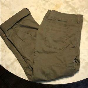 Maurice's Khaki pants 13/14